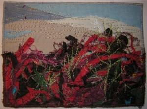 A la fin de l'hiver , anniversaire de Jacqueline P. avec ces lichens pleins de promesses.