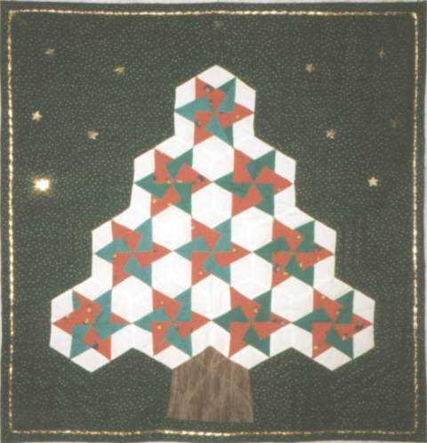 Sapin en 10 hexagones