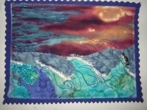 La Mer déchaînée pour Françoise