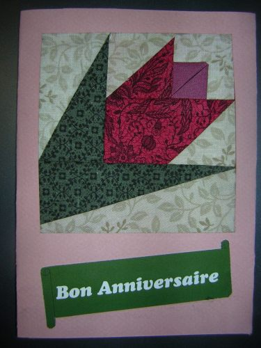 Pour notre chère archiviste toujours Zen ... malgré le souk dans les partitions : cette belle tulipe de hollande.